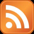 Узнаваемый значок RSS