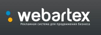Логотип рекламной платформы Webartex